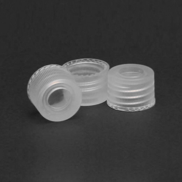 10012-CASE 10mm PP Screw Caps with Integrated Liners