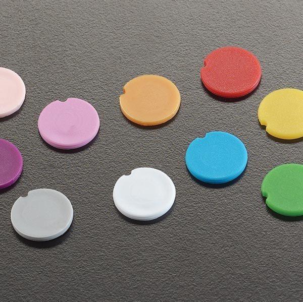 15266 Color Coding Cap Inserts, Assorted Colors