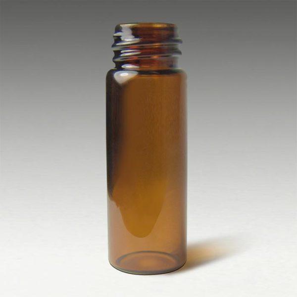 31532-CASE 13mm, 15 x 45mm, 4mL Amber Glass Screw Vials