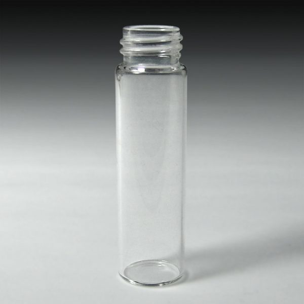 31760-CASE 17 x 60mm, 8mL Clear Glass Screw Vials, Case