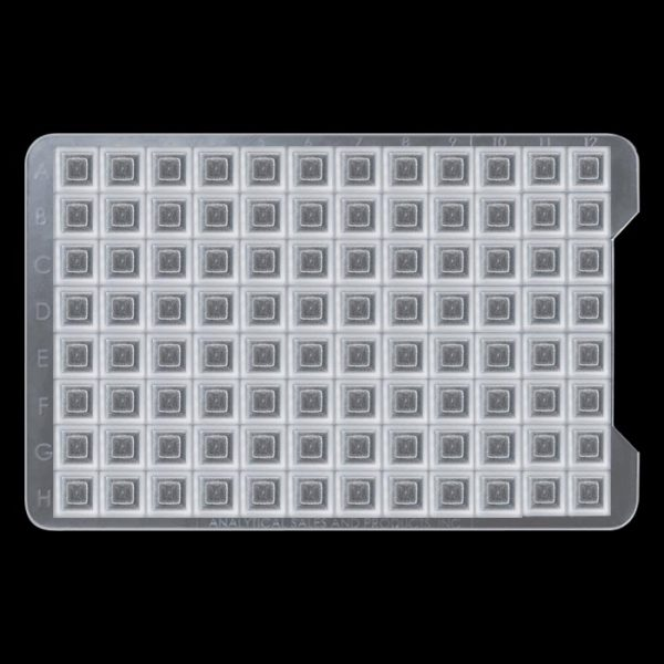 3726 Square 96-Well Low Temperature (-80) Cap Mat for Long Term Storage