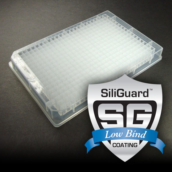 38120GC 120µL 384-Well Collection Plate with SiliGuard™ Low Bind Coating
