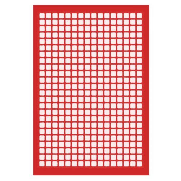 38402SL Adhesive Sealing Film, Teflon (PTFE), Round 96-Well Pattern, Scored Pre-slit, Ultra Thin, Purple
