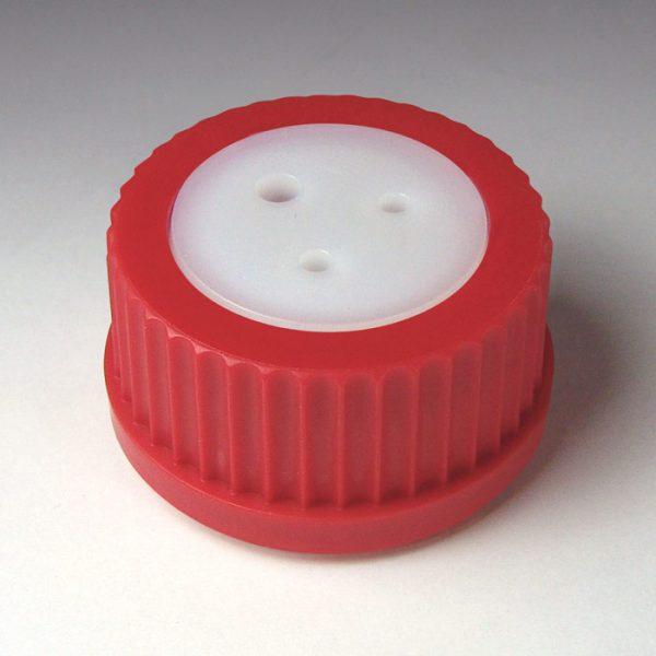 """45316 GL-45 Bottle Cap - (1) 3/16"""" OD Tubing Port"""