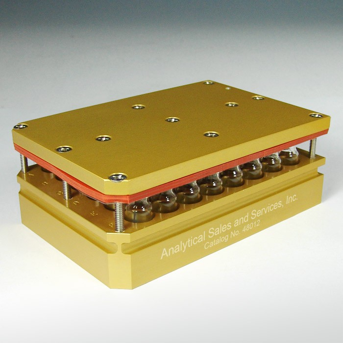 48012 48 x 2mL Aluminum Multi-well Reaction Block