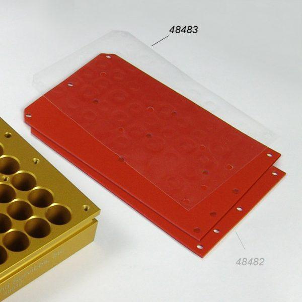 48483 PFA films for 48 Well (12mm OD) Reaction Blocks