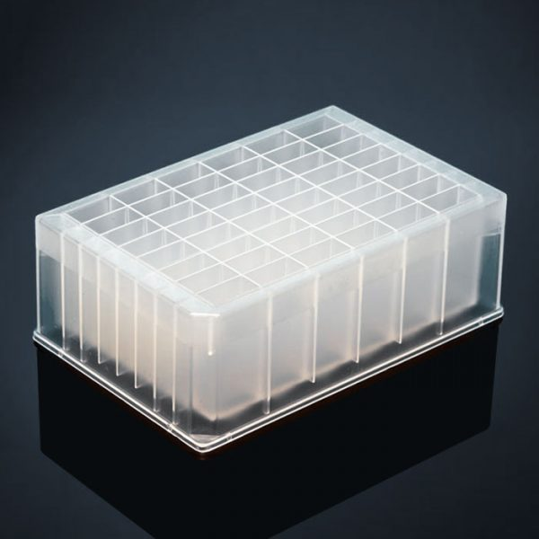 48685 48-Deep Well Rectangle Storage/Reaction Microplate, 5mL