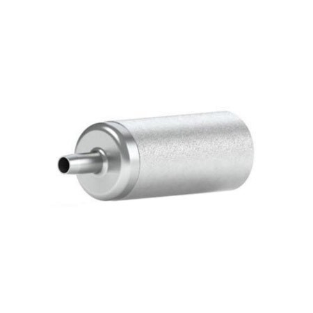 """49310 10µm SS Inlet Solvent Filter with Stem for 1/8"""" ID Tubing"""
