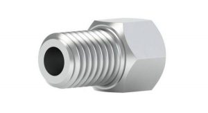 """52235X Male nut for 1/8"""" OD Tubing, 1/4-28 port"""