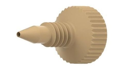 55125X PEEK® Micro Standard Head Fingertight Fittings for Microsleeves