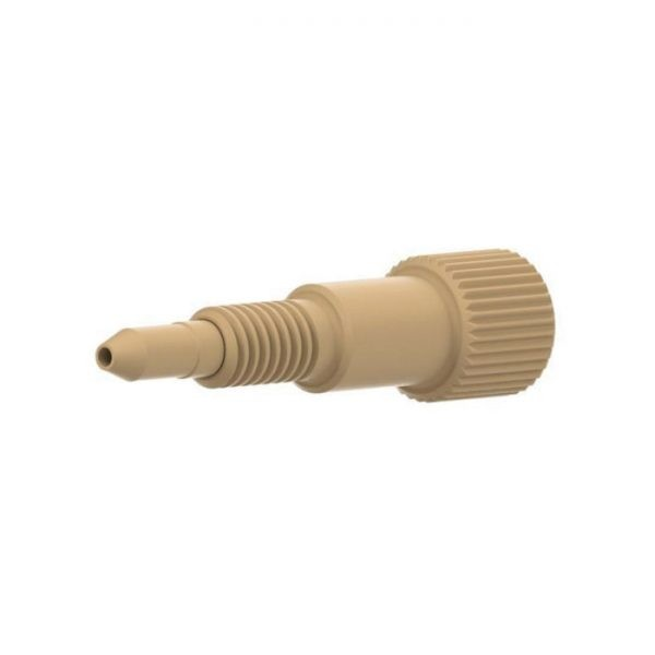 """57645X PEEK® Fitting, 6-40 Coned for 1/32"""" OD Tubing"""