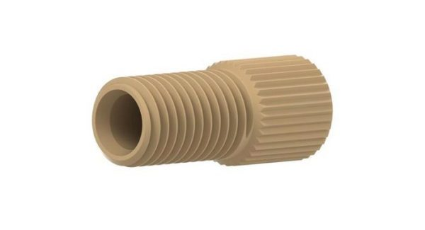 """59132 PEEK® Large Bore Flangeless Nut for 3/16""""and 4.0mm OD Tubing"""