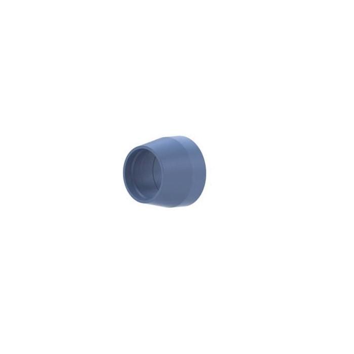 "59133 Tefzel® Large Bore Flangeless Ferrule for 3/16"" OD Tubing, Blue"