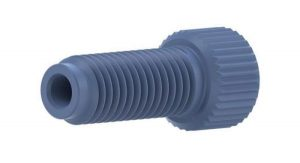 59210X Tefzel® Extra-Long Nut for Dionex Systems, Blue