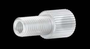 "59345X Tefzel® Flangeless Male Nut for 1/8"" OD Tubing"