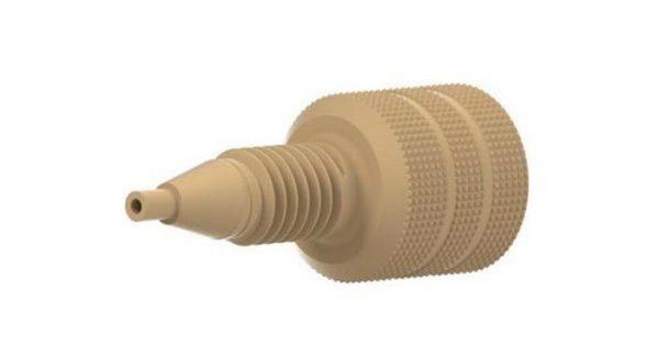 59650 PEEK® Adapter - M6 Female to 10-32 Male
