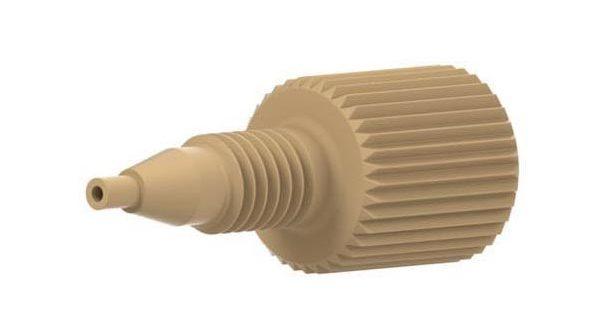 59652 PEEK® Adapter, 1/4-28 to 10-32