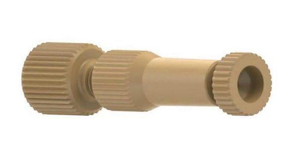 "59770 PEEK® MicroTight ZDV Adapter, 1/16"" OD to MicroTight Sleeves"
