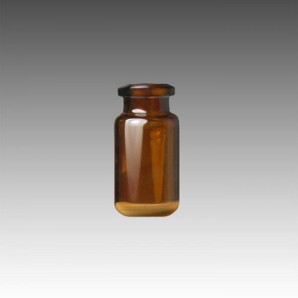 61182-3 10mL Amber Glass Crimp Style Head Space Vial