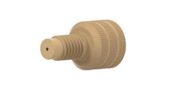 65011 PEEK® Adapter, 10-32 Female to M6 Male