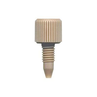66514-1 PEEK® One-Piece Fingertight Fitting, 10-32