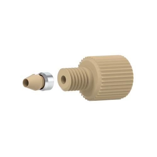 68562-1 Lite-Touch® Fitting, PEEK® Nut, 10-32