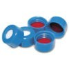 9mm BlueTwist Cap with Bonded Silicone/PTFE Liner, GC/MS Certified