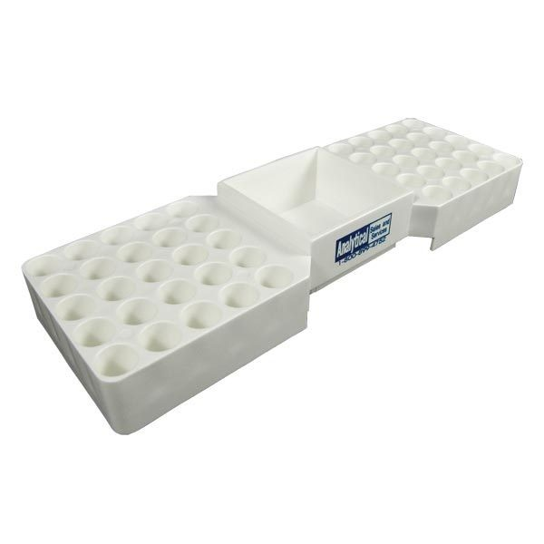 90003 Snap Rack for 12mm Vials, Holds 50