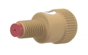 910-3301 Inlet Check Valve, 1/4-28 Male to 1/4-28 Female