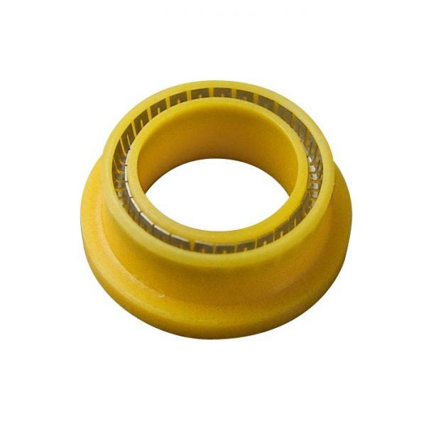 9254-77 Varian SD-1 UHMW Prep CO2 Pump Flanged Yellow Wash Seals