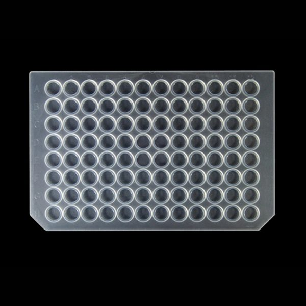 955011 Wide Mouth Round Silicone/PTFE Cap Mat, Shallow Plug, Wider Surface Area