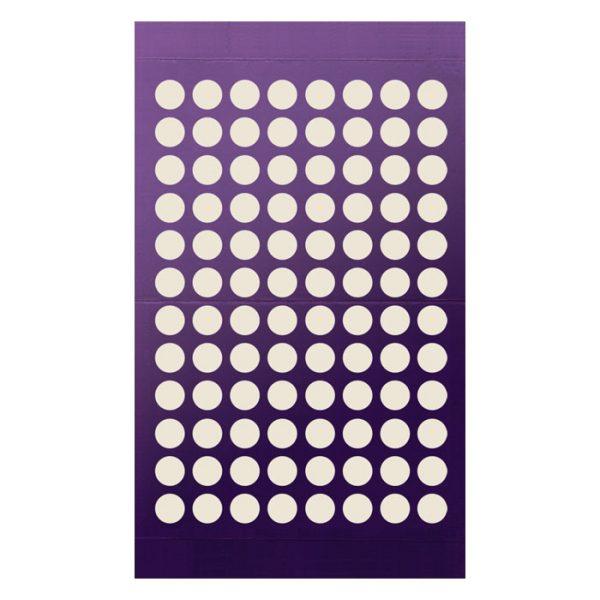 961801 Adhesive Sealing Film, Teflon (PTFE), Round 96-Well Pattern, Ultra Thin, Purple