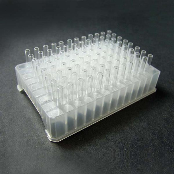 96242 96-Well Tray with 5 x 31mm Flat Bottom Vials