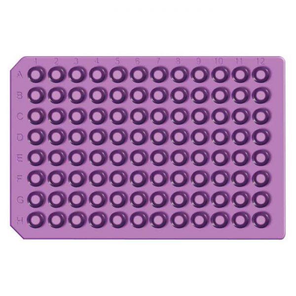 965007 Purple Ultra Thin Round Soft Silicone/PTFE Cap Mat