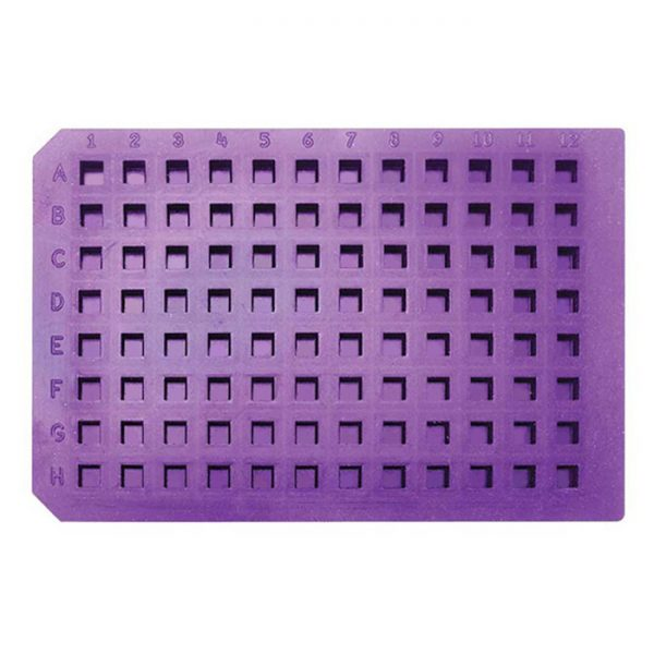 965008 Mighty Mat Purple Ultra Thin Square Cap Mat Soft Silicone/PTFE