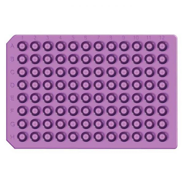 965075 Purple Pre-Scored Soft Silicone/PTFE Ultra Thin Round Cap Mat