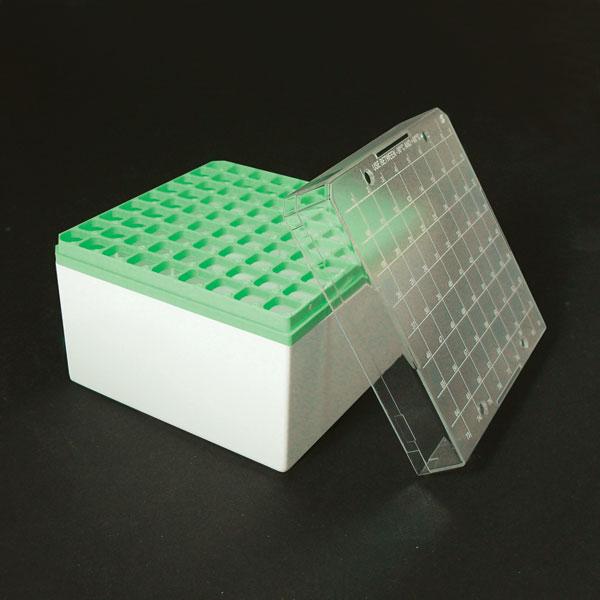 96581G 81 Position Storage Box for Large 3-5mL Sample Tubes