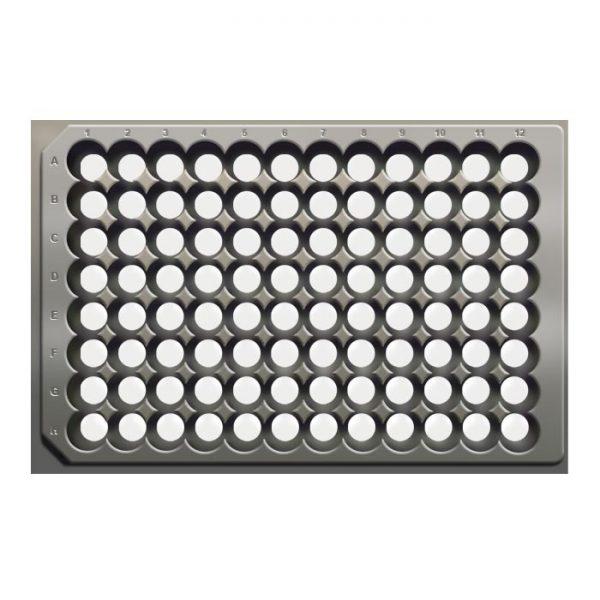 96AB74 Aluminum Open Round Bottom Flexi-Tier Base Plate