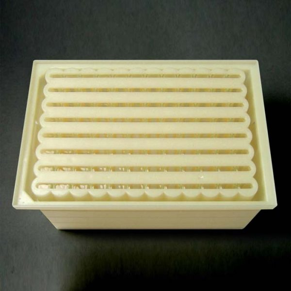 96FB00 Opaque Slotted Base Plate for 96-Well Flexi-Tier Block