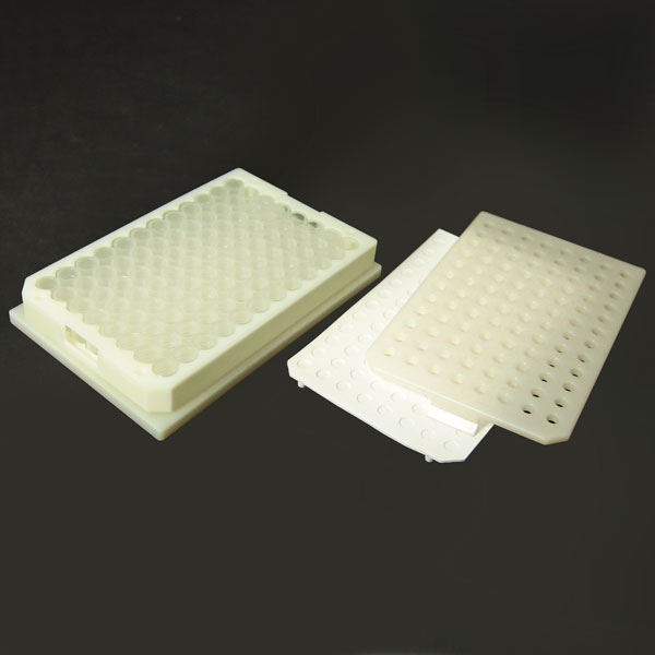 96PV05-C 0.5mL 96-Well Clear Flexi-Tier Block System with Conical Polypropylene