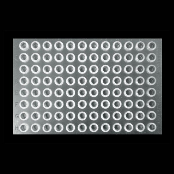 99685 Clear Silicone/PTFE Cap Mat for 1mL TrueTaper® Plate and 1mL Tapered Vials