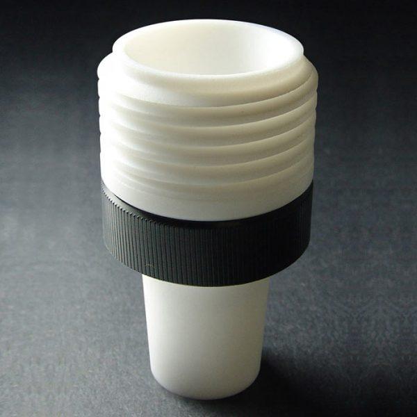 CA2932 PTFE, GL45 Cap- Ground Neck for Canary-Safe Caps