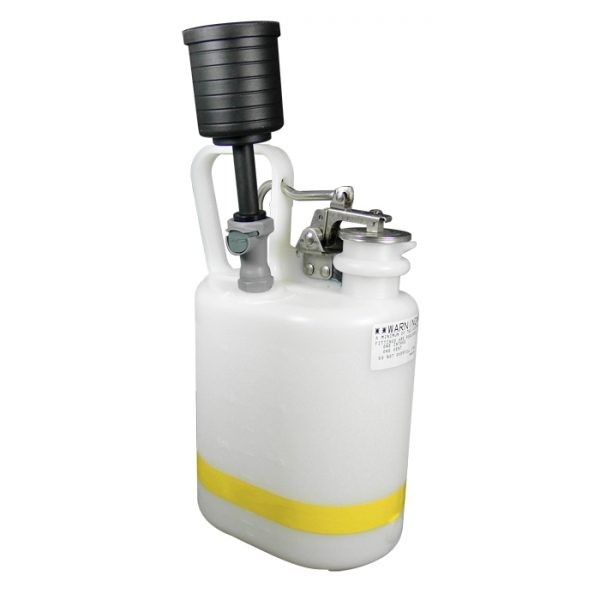 CL12160 Canary-Safe JustRite® Quick Disconnect Disposal Safety Can with PP Fittings