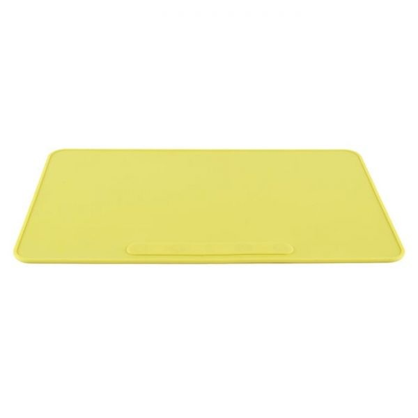 LABMATY Silicone Lab Mat, Yellow/Gray/Blue