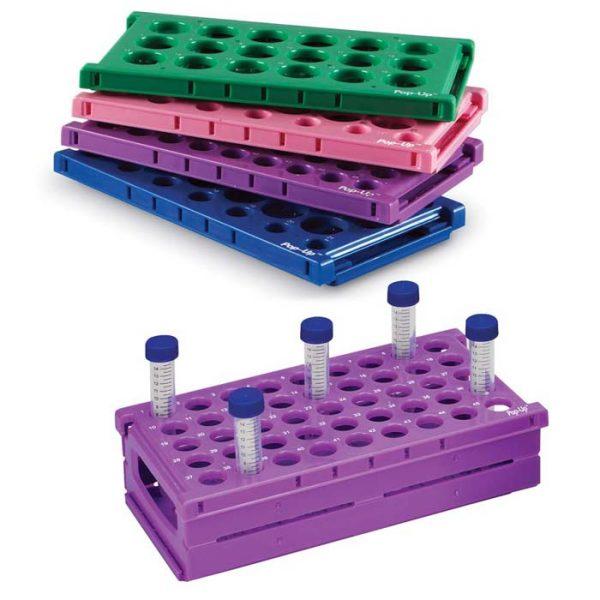 PUR2112B Pop-Up Racks for 15mL/50mL Tubes, 21 or 12 Wells