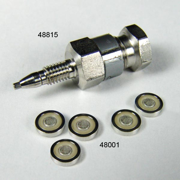 48001 Replacement 0.5µm SS Frits for 48815