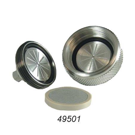 """49501 SS Frit - 0.839"""" x 0.125"""", 10µm Pores"""