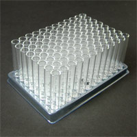 Glass inserts in loader