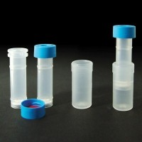Mini prep filter vials
