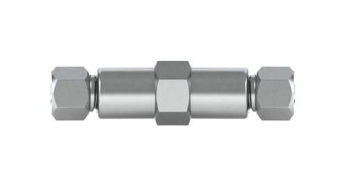 """Stainless Steel Union for 1/8"""" OD Tubing"""